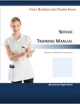 Server Training Manual cover image
