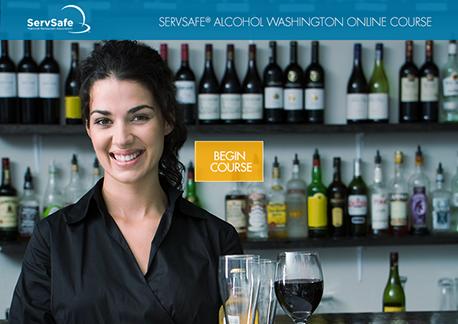 ServSafe SERVSAFE ALCOHOL WASHINGTON ONLINE COURSE