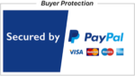 Secured by PayPal logo